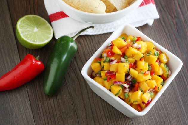 Easy Mango Salsa Picture