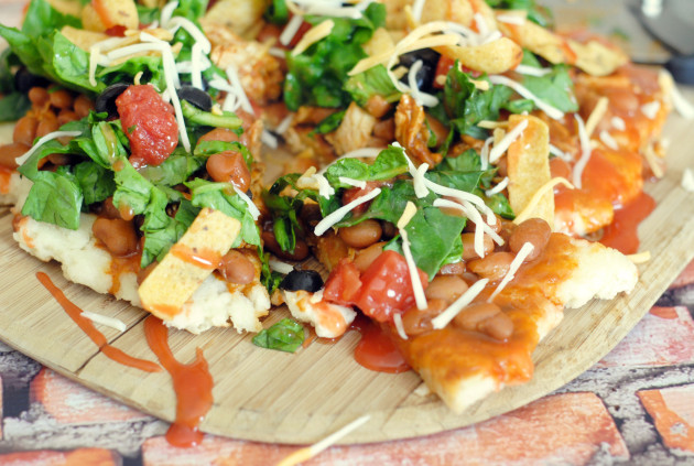 Grilled Chicken Taco Pizza Picture
