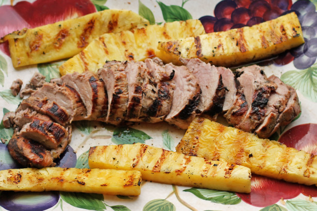 Grilled Pork Loin Photo
