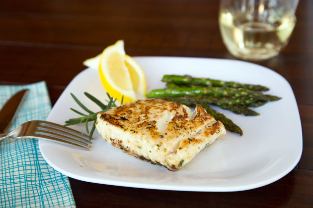 Grilled Halibut Steaks Full of Flavor