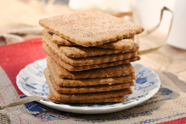 Homemade Graham Crackers Photo