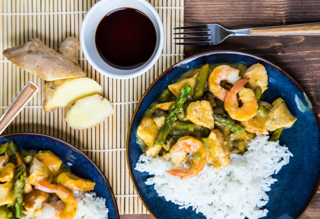 Chicken and Shrimp Curry