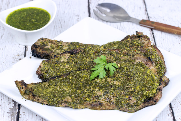 Grilled Chimichurri Steaks