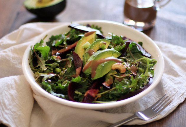 Roasted Beet & Avocado Salad