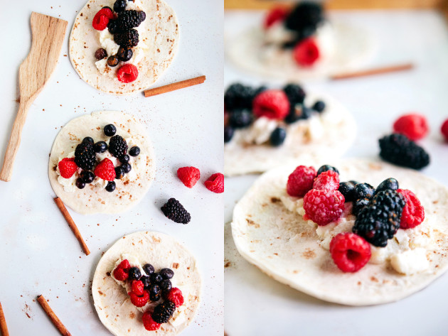 Fresh Berry Tacos