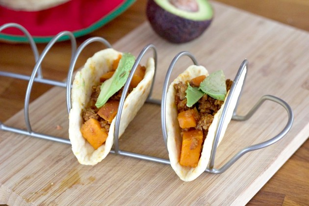 sweet potato spicy potato avocado the salsa and lime really chorizo ...