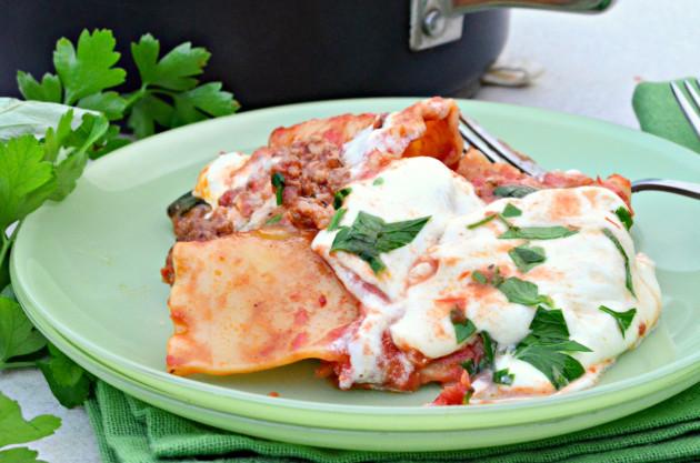 One Pot Lasagna