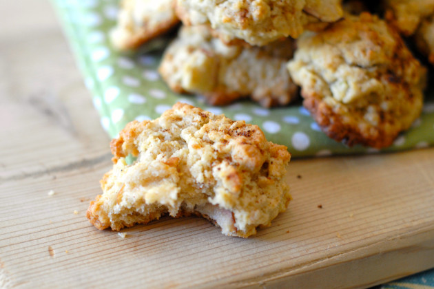 Gluten Free Oatmeal Cookies with Apple Image