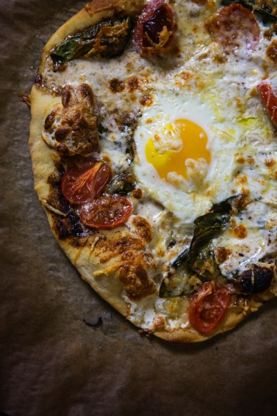 Caprese Pizza Pic