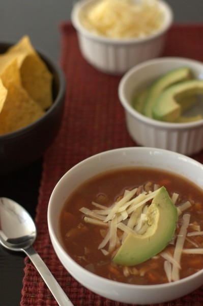Chicken Tortilla Soup Picture