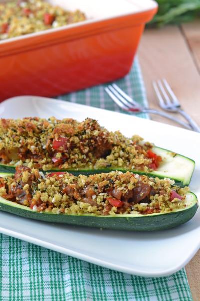 Stuffed Zucchini Image