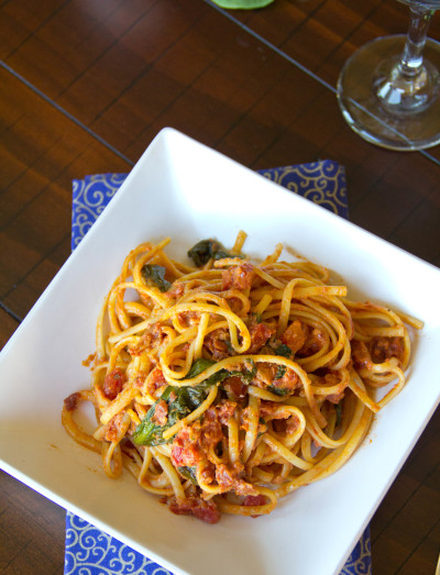 Sun Dried Tomato Pasta Picture