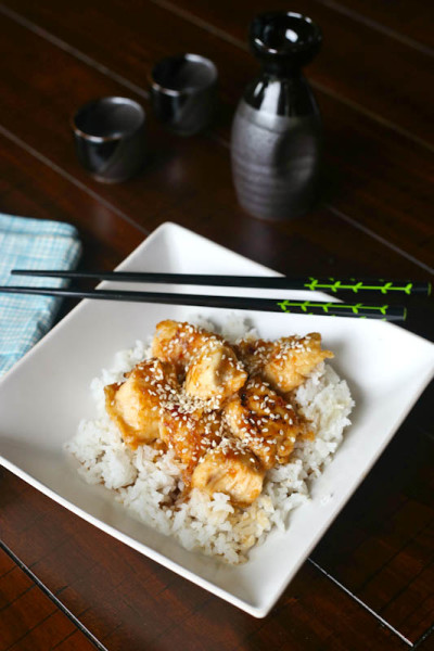 Sesame Chicken Picture