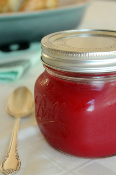 Homemade Cranberry Sauce Picture