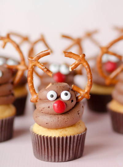 Reindeer Cupcakes Picture