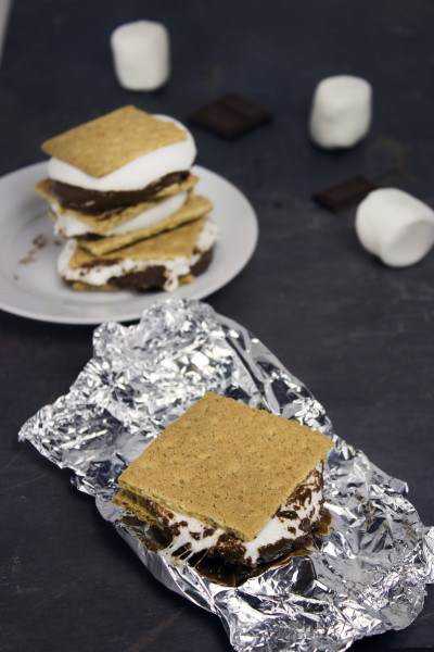 Grilled S'mores Picture