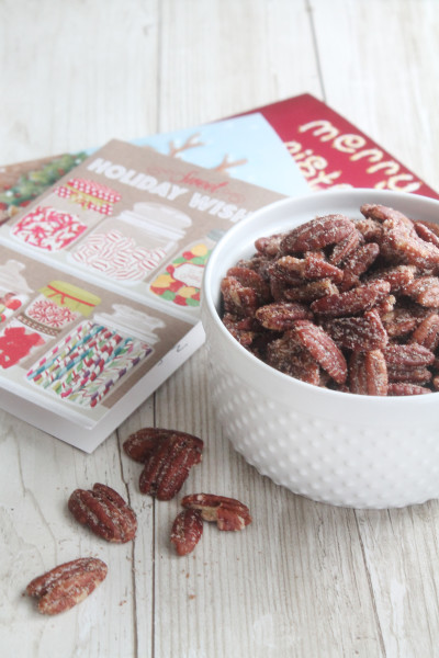 Sugared Pecans Picture