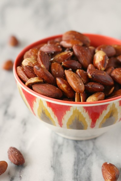 Olive Oil Roasted Almonds Picture