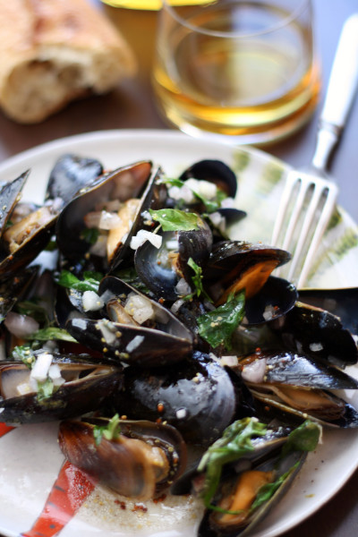 Whiskey Mussels en  Papillote Image