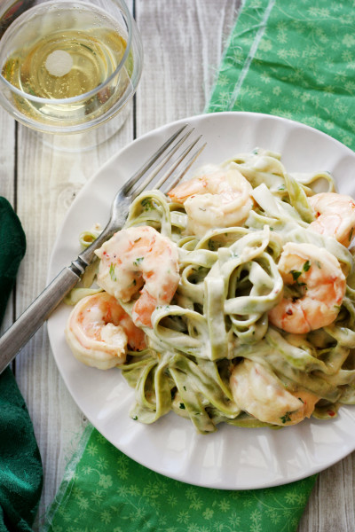 Creamy Shrimp Pasta Picture