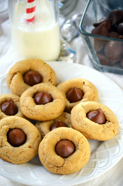 Gluten Free Peanut Butter Blossom Cookies Picture