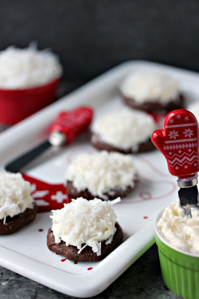 Chocolate Coconut Cookies Picture