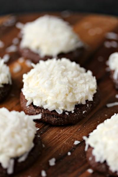 Chocolate Coconut Cookies Image